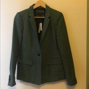 Beautiful green linen blazer - NWT